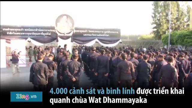 Toàn cảnh vụ bê bối tại ngôi chùa quyền lực nhất Thái Lan