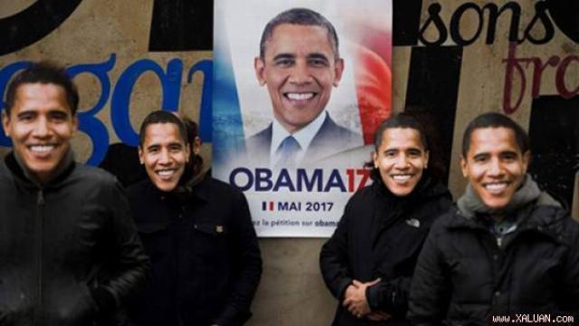 42.000 người Pháp kiến nghị Obama tranh cử tổng thống