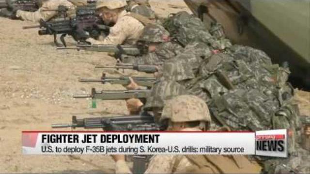 """Quân đội Mỹ - Hàn tập trận """"nắn gân"""" Triều Tiên"""