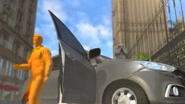 Mô phỏng vụ khủng bố bên ngoài tòa nhà quốc hội Anh