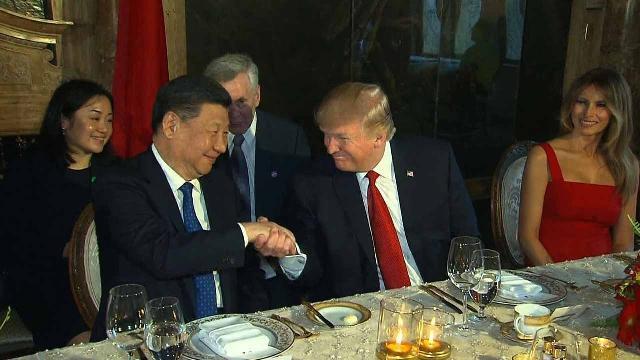 Tổng thống Mỹ ăn tối với Chủ tịch Trung Quốc ở Mar-a-Lago