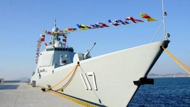 Tàu khu trục Trung Quốc thử nghiệm bắn đạn thật gần Triều Tiên