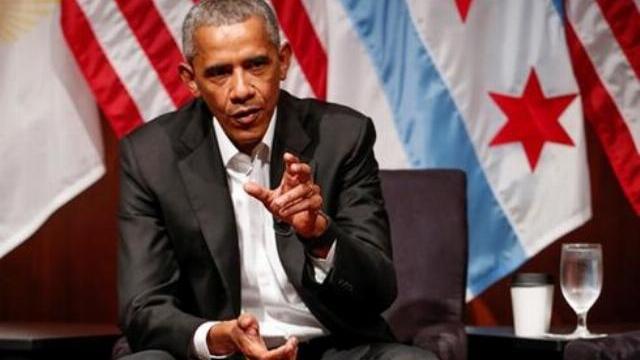 Obama phát biểu lần đầu trước công chúng từ khi Trump nhậm chức