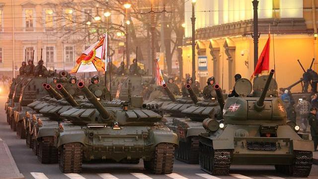 Nga chuẩn bị lễ duyệt binh mừng Ngày Chiến thắng