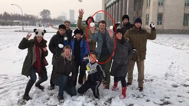 Otto Warmbier vui chơi ở Triều Tiên trước khi bị bắt