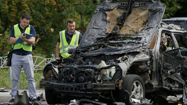 Nổ bom xe khủng bố, đại tá tình báo Ukraine thiệt mạng