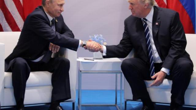 Tổng thống Trump lần đầu hội đàm với Tổng thống Putin