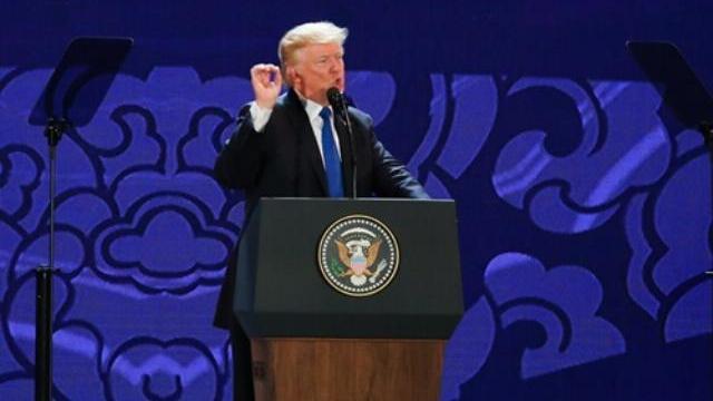 Tổng thống Trump nhắc đến Hai Bà Trưng trong bài phát biểu tại APEC