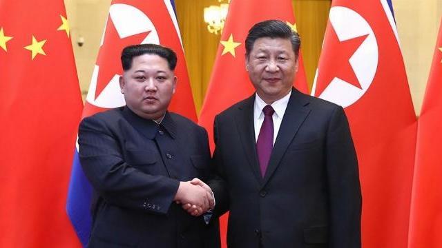 ông Kim Jong Un gặp gỡ ông Tập Cận Bình