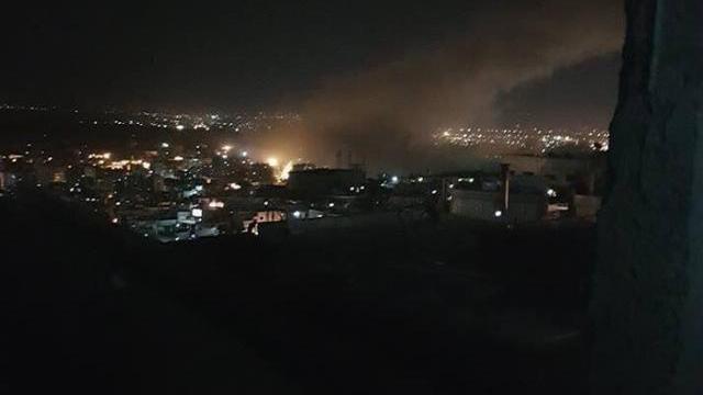 Video chiến sự ở Syria được chia sẻ trên Twitter sáng 14-4