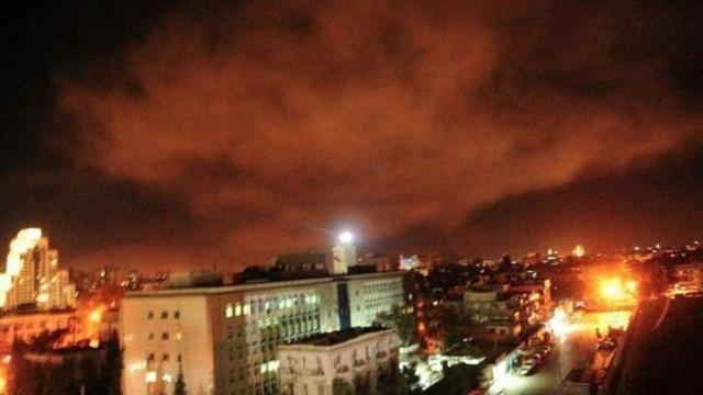 Những vụ nổ đầu tiên tại thủ đô Damascus (Syria)