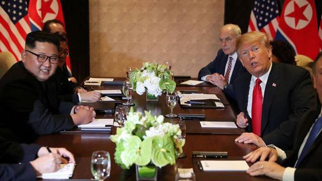 Cuộc hội đàm đặc biệt giữa Trump và Kim Jong-un