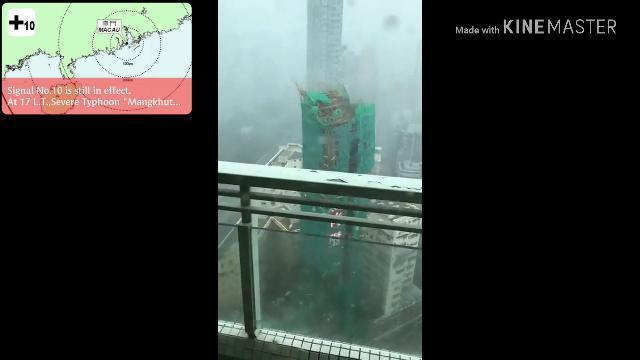 Siêu bão Mangkhut đổ bộ vào Macau