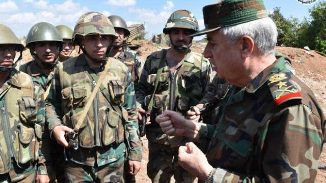 Bộ trưởng BQP Syria ra chiến tuyến: Quân lệnh như sơn, sắp dìm Idlib trong biển lửa