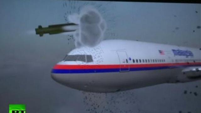 Máy bay MH17 bị bắn hạ