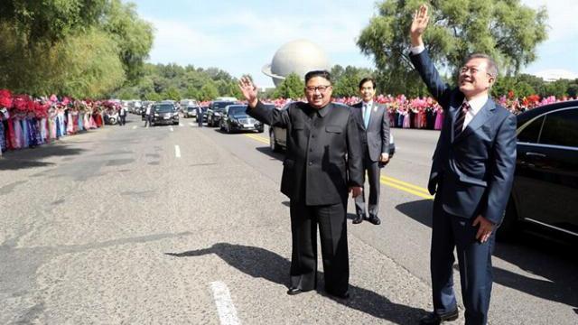 Hoạt động của Tổng thống Hàn Quốc cùng phu nhân tại Triều Tiên