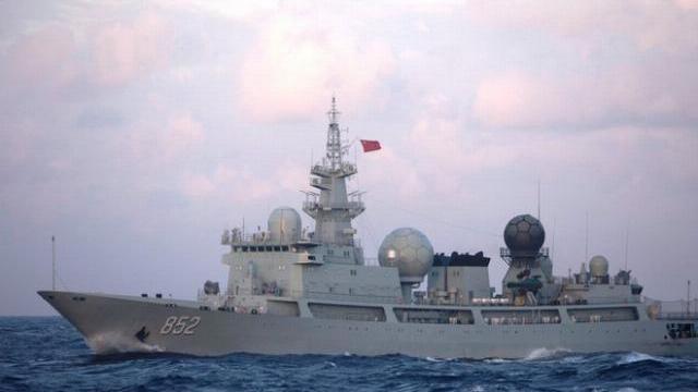 Tập trận với Nga, khách không mời từ Trung Quốc lừ lừ xuất hiện