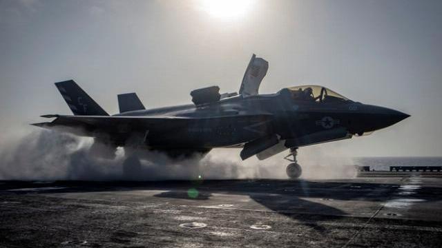 Tiêm kích tàng hình F-35B rơi tan xác, niềm tự hào của KQ Mỹ