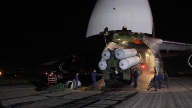 An-124 Ruslan vận chuyển S-300 tới Syria