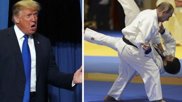 Tổng thống Trump tuyên bố có thể thắng khi đấm bốc với Tổng thống Putin