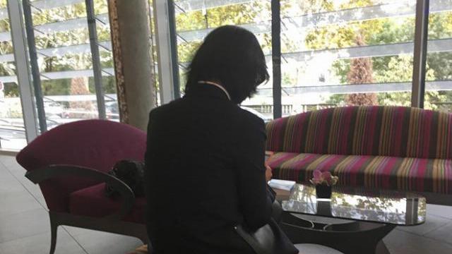 Cận cảnh cuộc họp báo của vợ cựu chủ tịch Interpol bị mất tích