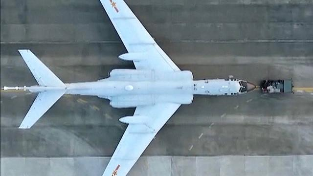 Bomber H-6K boosts China's air force's long-range strike capabilities