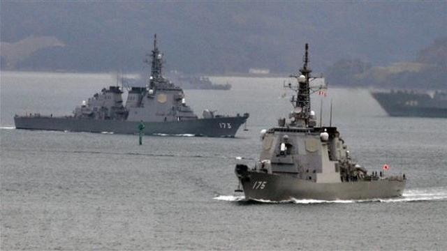 Nhật, Mỹ diễn tập đánh chiếm đảo