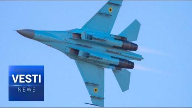 Máy bay SU-27 của Ukraine rơi