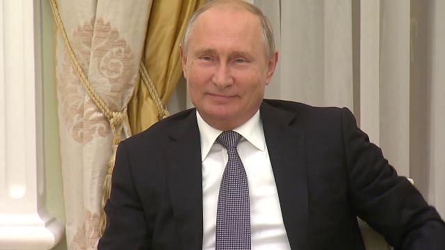 Khoảnh khắc ông Putin dí dỏm về quốc huy Mỹ