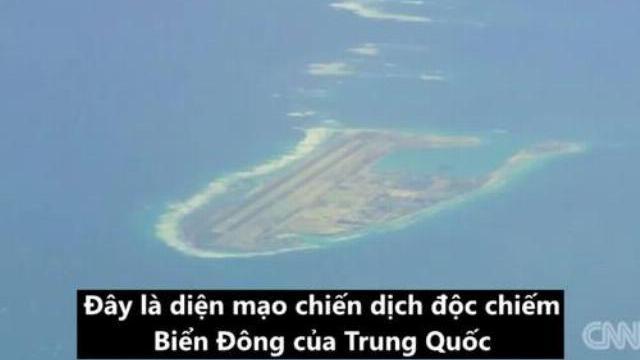 Hoạt động cải tạo, quân sự hóa đảo nhân tạo phi pháp của Trung Quốc nhìn từ trinh sát cơ Mỹ