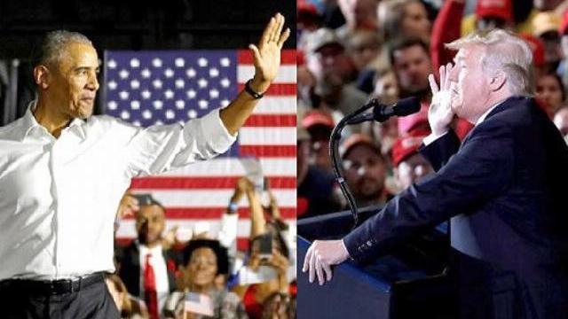 Ông Trump: 'Người di cư xâm lăng Mỹ', ông Obama: 'Đừng để bị lừa gạt'
