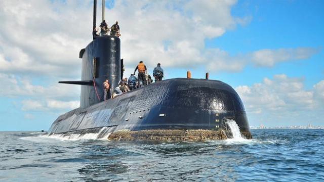 Hé lộ manh mối mới về tàu ngầm Argentina bị mất tích
