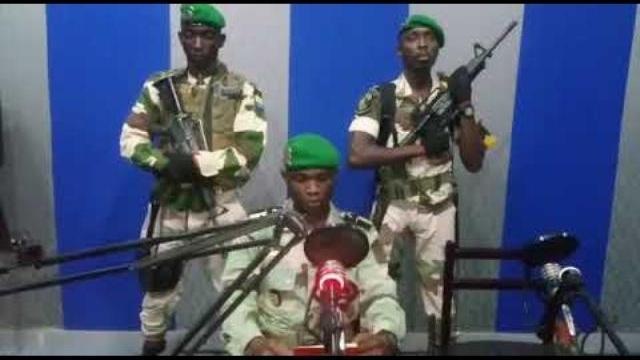 Lực lượng Quân đội Gabon nổi dậy đảo chính