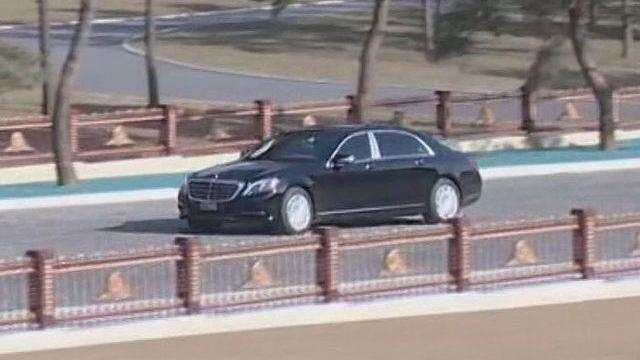 Hé lộ siêu xe bọc thép mới của ông Kim Jong-un