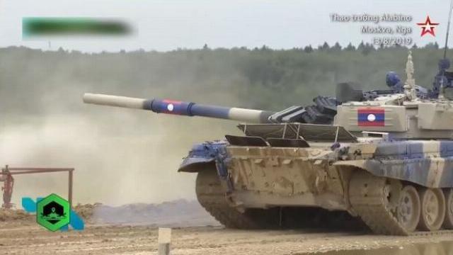 Hành động khiến kíp lái xe tăng Lào bị loại khỏi giải đua tăng quốc tế
