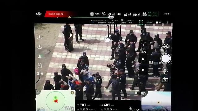 Cảnh tượng khủng khiếp Trung Quốc di chuyển tù nhân người Duy Ngô Nhĩ ở Tân Cương