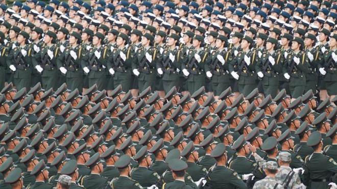 Trung Quốc duyệt binh kỷ niệm quốc khánh