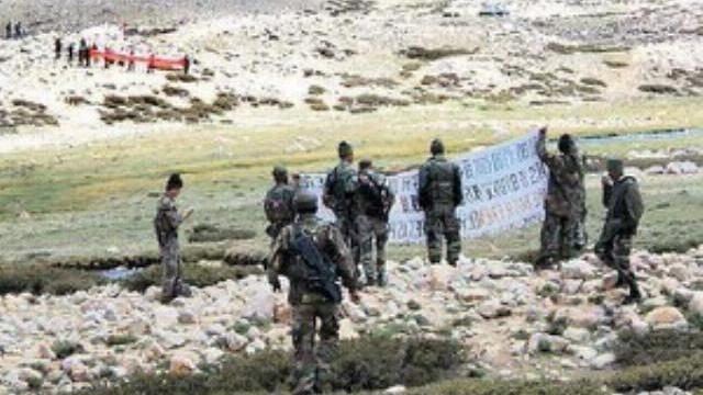 Lính Trung Quốc bị lính Ấn Độ đấm tới tấp tại vùng biên giới