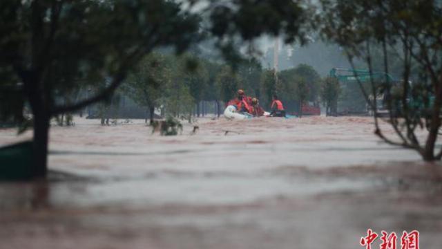 Lũ lụt ở Trung Quốc làm nhiều người chết