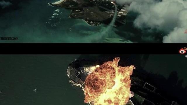 """Trung Quốc """"mượn"""" phim Hollywood làm video mô phỏng tấn công căn cứ Mỹ"""