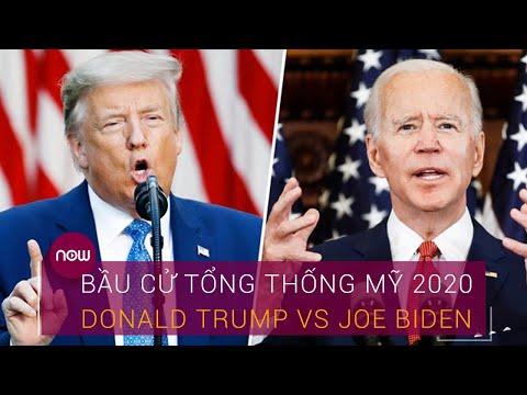 """[Trực tiếp] Bầu cử Tổng thống Mỹ 2020: Trump Vs Biden ai sẽ thắng trong trận """"so găng"""""""