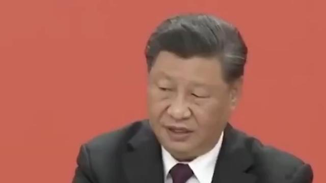 Video ông Tập Cận Bình ho nhiều lần khi phát biểu