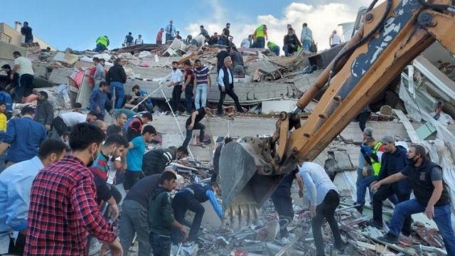 Động đất 7 độ rung chuyển Hy Lạp, Thổ Nhĩ Kỳ