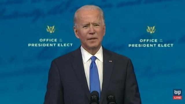 Joe Biden: Không gì dập tắt được ngọn lửa dân chủ Mỹ