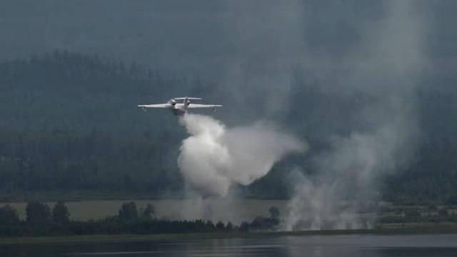 Máy bay Nga đã gặp sự cố ngay sau khi xả nước