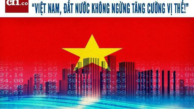 """Thời báo kinh tế Anh """"Việt Nam, đất nước không ngừng tăng cường vị thế!"""".mp4"""