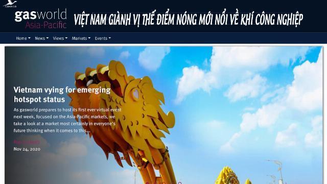 Gasworld: Việt Nam giành vị thế điểm nóng mới nổi về khí công nghiệp