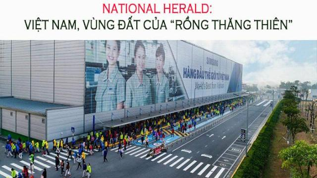 """National Herald: Việt Nam, vùng đất của """"Rồng thăng thiên"""""""