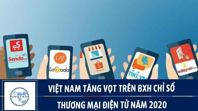 UNCTAD: Việt Nam tăng vọt trên BXH chỉ số thương mại điện tử năm 2020