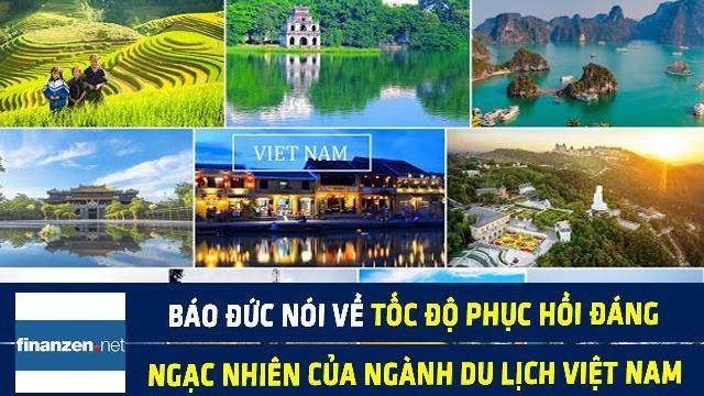 Finanzen nói về tốc độ phục hồi đáng ngạc nhiên của ngành du lịch Việt Nam